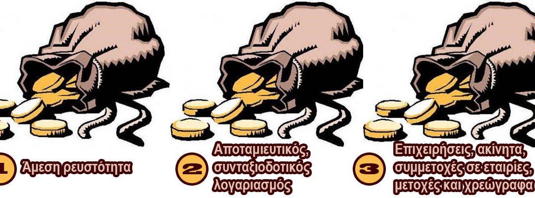 Τα τρία «πουγκιά» της ευημερίας
